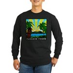 HAWAII - ART DECO Long Sleeve Dark T-Shirt