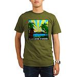 HAWAII - ART DECO Organic Men's T-Shirt (dark)