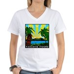 HAWAII - ART DECO Women's V-Neck T-Shirt