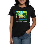 HAWAII - ART DECO Women's Dark T-Shirt