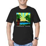 HAWAII - ART DECO Men's Fitted T-Shirt (dark)