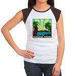 HAWAII - ART DECO Women's Cap Sleeve T-Shirt