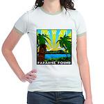 HAWAII - ART DECO Jr. Ringer T-Shirt