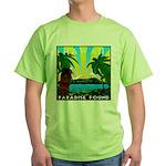 HAWAII - ART DECO Green T-Shirt