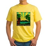 HAWAII - ART DECO Yellow T-Shirt