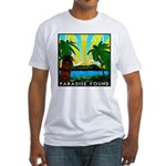 HAWAII - ART DECO Fitted T-Shirt