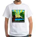 HAWAII - ART DECO White T-Shirt