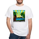 HAWAII - ART DECO White T-Shirt