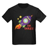 3rd Birthday Rocketship T