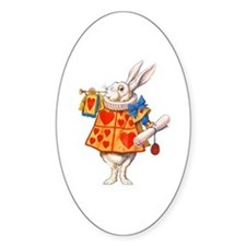 ALICE - THE WHITE RABBIT Decal