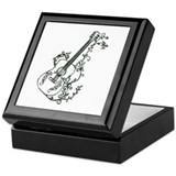 Ivy Guitar Keepsake Box
