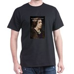 Genius at Play Oscar Wilde Black T-Shirt