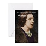 Genius at Play Oscar Wilde Greeting Cards (Package