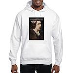 Genius at Play Oscar Wilde Hooded Sweatshirt