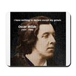 Genius at Play Oscar Wilde Mousepad