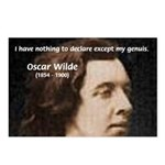 Genius at Play Oscar Wilde Postcards (Package of 8
