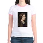 Genius at Play Oscar Wilde Jr. Ringer T-Shirt