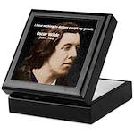 Genius at Play Oscar Wilde Keepsake Box