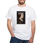 Genius at Play Oscar Wilde White T-Shirt
