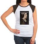 Genius at Play Oscar Wilde Women's Cap Sleeve T-Sh