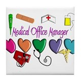 Medical Assistant Tile Coaster