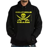 Oil Field Trash,Skull,Bones Hoody