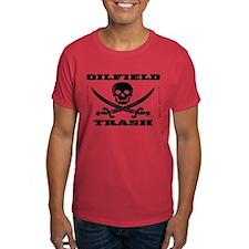Oil Field Trash,Skull T-Shirt,Oil,Gas,Rigs