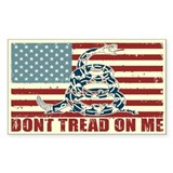 Don't Tread On Me Bumper Stickers
