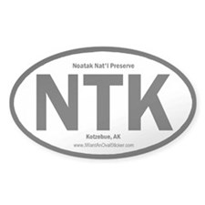 Naotak Oval Decal