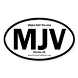 Mojave Oval Decal