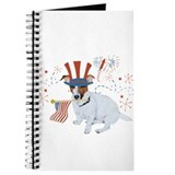 Patriotic Jack Russell Journal