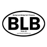 Bering Land Bridge Oval Decal