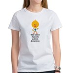 Autism Awareness Chick Women's T-Shirt