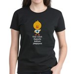 Autism Awareness Chick Women's Dark T-Shirt