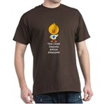 Autism Awareness Chick Dark T-Shirt