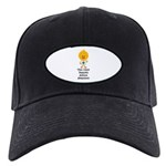 Autism Awareness Chick Black Cap