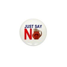 Cute Just say no Mini Button (10 pack)