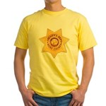 Mono County Sheriff Yellow T-Shirt