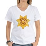 Mono County Sheriff Women's V-Neck T-Shirt