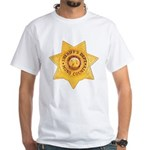 Mono County Sheriff White T-Shirt