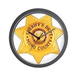 Mono County Sheriff Wall Clock
