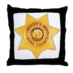 Mono County Sheriff Throw Pillow