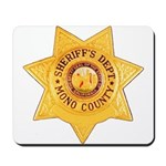 Mono County Sheriff Mousepad