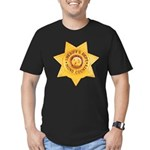 Mono County Sheriff Men's Fitted T-Shirt (dark)