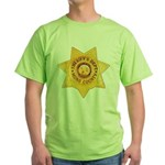 Mono County Sheriff Green T-Shirt
