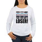 That Spin Was a Loser Women's Long Sleeve T-Shirt