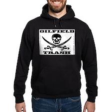 Oil Field Trash,Skull Hoodie