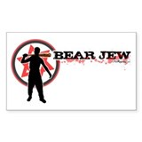 Bear Jew Bumper Stickers