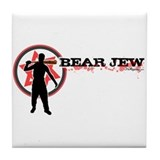 Bear Jew Tile Coaster