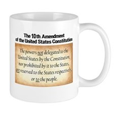 Unique 10th amendment Mug